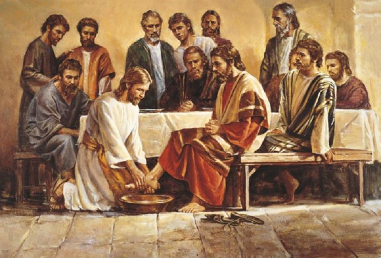Pesan Yesus Saat Membasuh Kaki Murid-MuridNya
