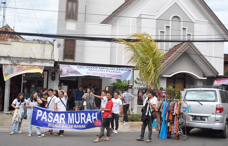 Sinergi GKI Cianjur dan COY Bandung
