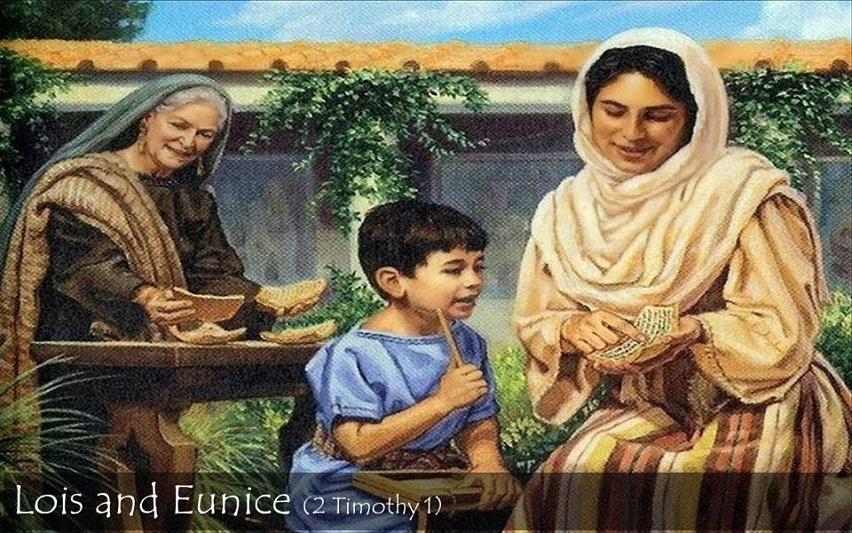 Eunike Sang Ibu Pembaca Kitab Suci