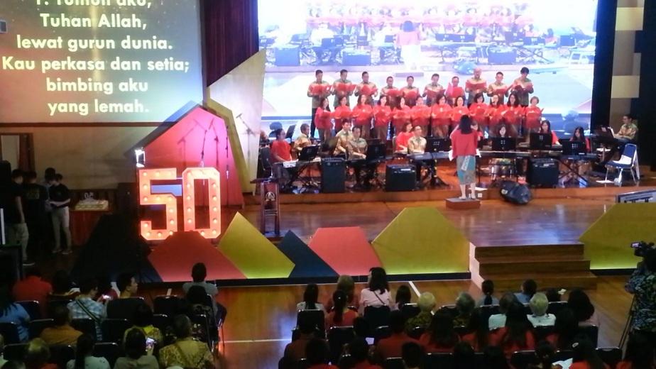 Jubileum 50 Tahun GKI Nurdin