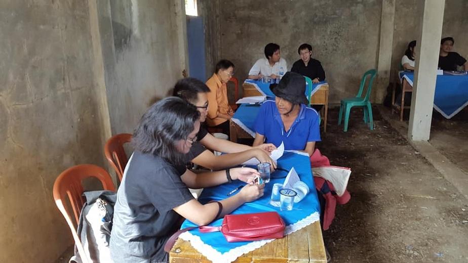 Kaum Muda GKI Guntur di Nanggerang