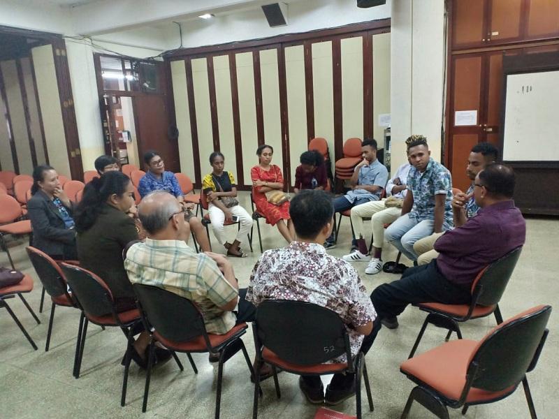 Bertemu Kaum Muda Papua di Bandung