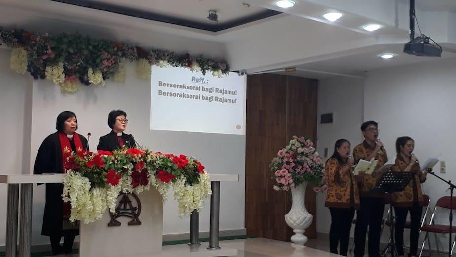 GKI Jambi: Jemaat ke-100 di GKI SW Jawa Barat