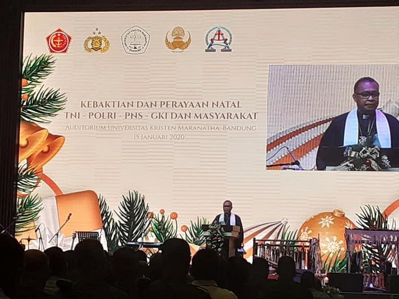 Semangat Nusantara di Natal TNI-Polri Bandung Raya