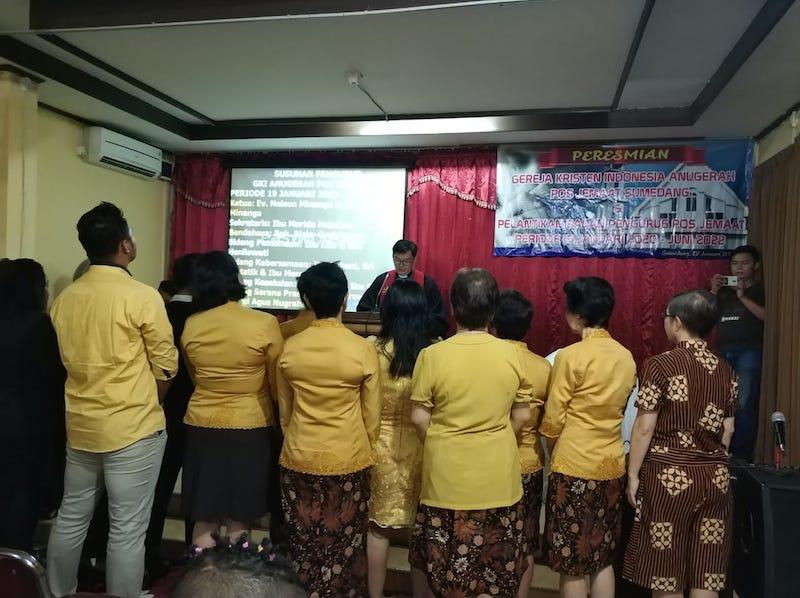 Peresmian GKI Anugerah Pos Jemaat Sumedang